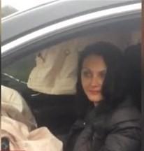 На Рівненщині п'яна жінка на позашляховику «влетіла» у фуру (ВІДЕО)