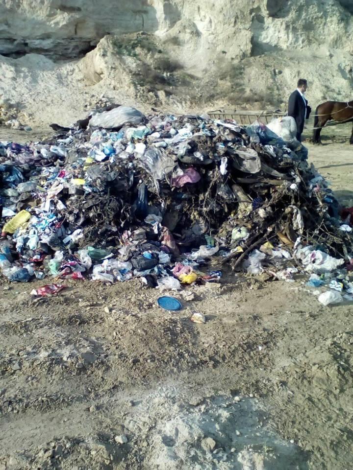 """Біля """"Агатівки"""" влаштували сміттєвий полігон"""