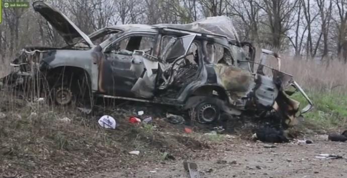 В ОРЛО терористи підірвали автомобіль СММ ОБСЄ - є загиблий