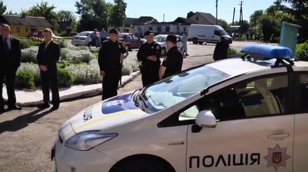 На Кореччині запрацював пост патрульної поліції (ВІДЕО)