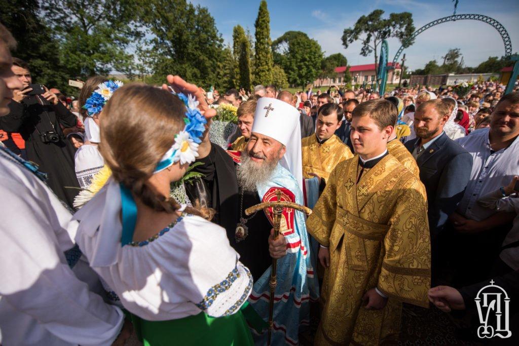Що робив голова Рівненської обласної ради на іменинах московського попа?