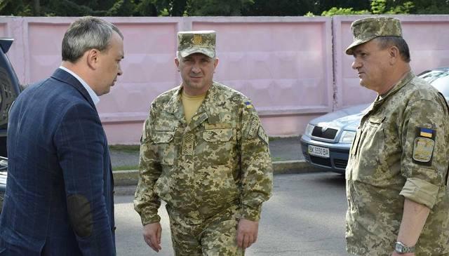 На Рівненщині призначили нового військового комісара