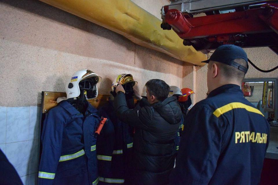 Дмитро Соломчук відвідав підрозділи ДСНС Рівненщини