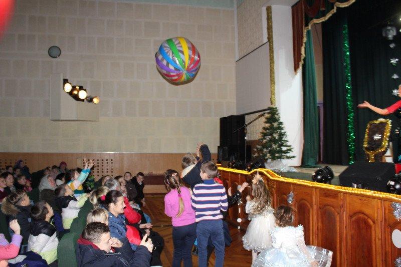 Відбувся новорічний ранок для дітей-сиріт та дітей позбавлених батьківського піклування