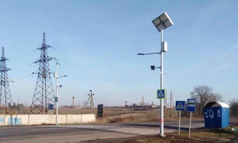 """У Рівненському районі запрацювало 6 """"сонячних"""" світлофорів"""