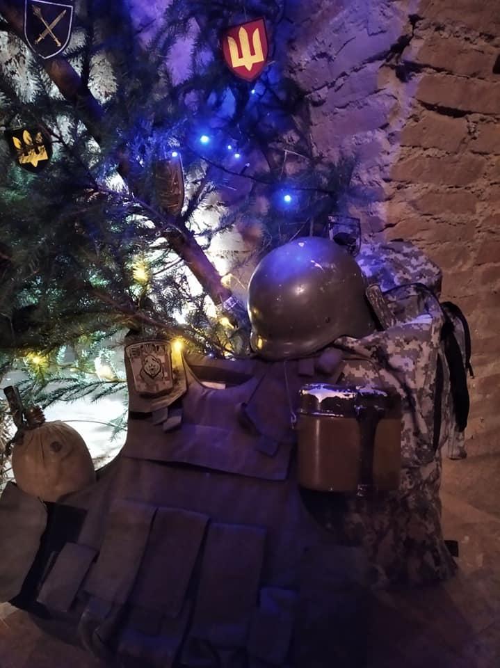 «Майданівський» вертеп встановили у Дубні