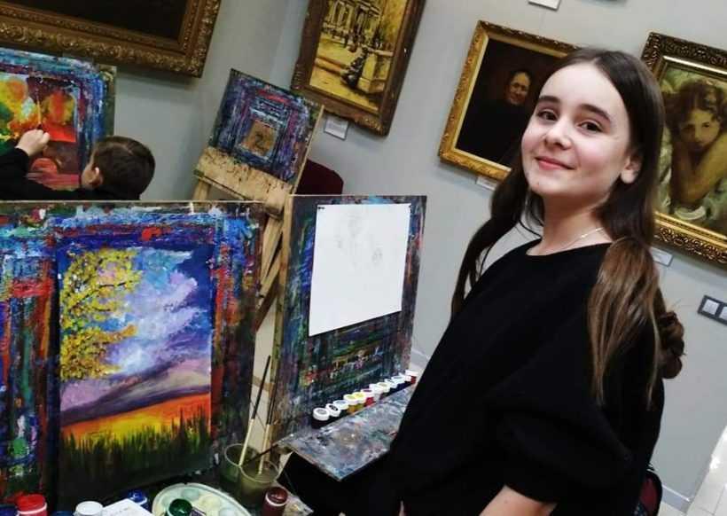"""26 січня """"Великі шедеври маленьких художників"""" у Євро-Арті"""