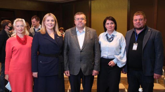 """Рудик із """"Голосу"""" підтримала кандидата від партії Порошенка у мери Харкова"""